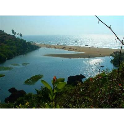 Detail Arambol Beach Goa India Location Map