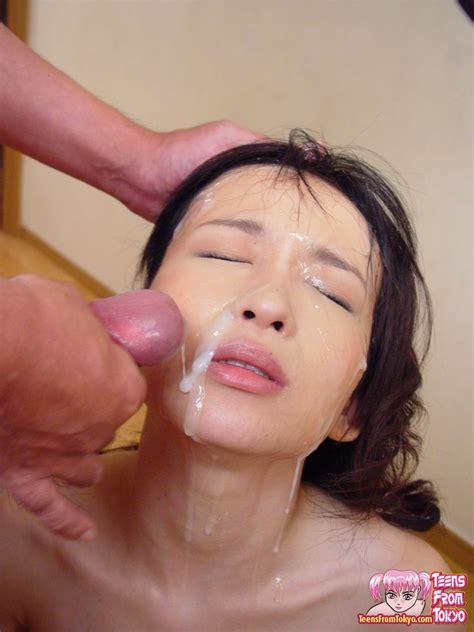 Japanese Teen Messy Bukkake Porn Ass Point