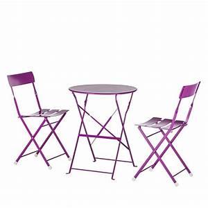 Gartenstühle Und Tisch : gartenm bel set 3 tlg metall pink gartenstuhl gartentisch neu ebay ~ Markanthonyermac.com Haus und Dekorationen