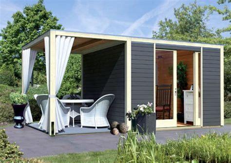 die besten 25 flachdach gartenhaus ideen auf