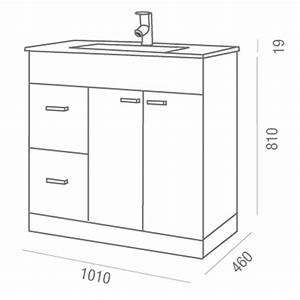 hauteur standard meuble salle de bain photos galerie d With hauteur meuble salle de bain vasque