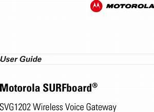 Arris Svg1202 Cable Modem User Manual