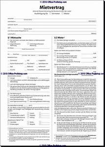 Mietvertrag Kostenlos Pdf : formular mietvertrag ~ Frokenaadalensverden.com Haus und Dekorationen
