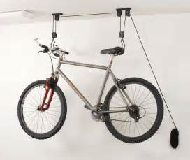ceiling bike storage lift hang cycle bicycle garage shed mount pulley rack hoist ebay