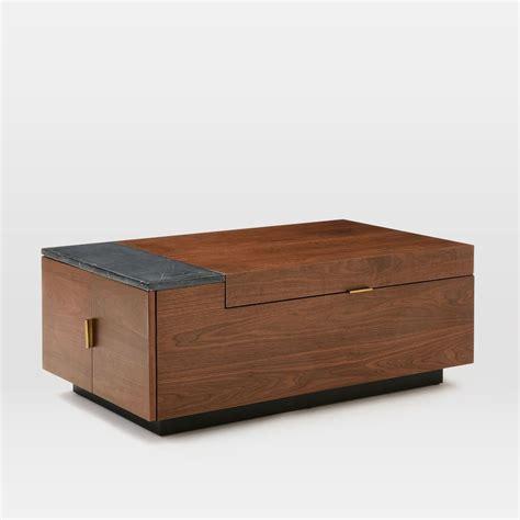 Hyde Hidden Storage Secret Mini Bar Coffee Table So