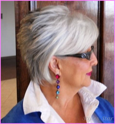 short haircuts for women over with glasses stylesstar com