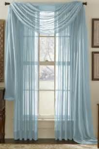Miller Home Window Curtains by Sheer Blue Voile Curtains Dining Room