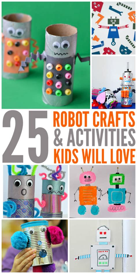 preschool robot toy 25 robot crafts and activities for the house 539