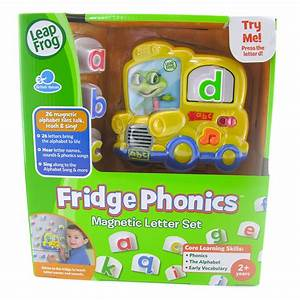 Leapfrog fridge phonics magnetic letter set ebay for Leapfrog phonics magnetic letter set