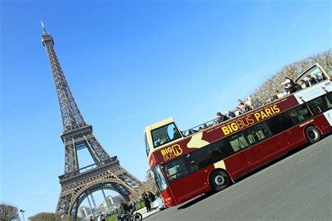 Paris Tours  Paris City Hop On  Hop Off Bus Tour