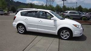 2005 Pontiac Vibe  White - Stock  13-2674b