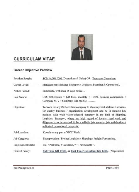 sle resume sales executive freight forwarding quotes