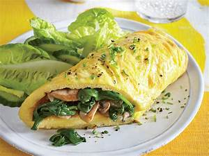 Mushroom and Spinach Omelet Recipe MyRecipes