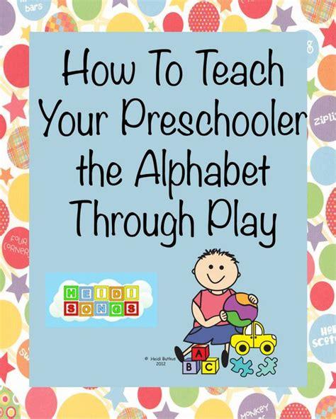 how to teach your preschool child the alphabet through 958 | b867cefa43862b6aca0dc72ae1dbae1b