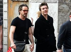 Robert Downey Jr. Out and About - Zimbio