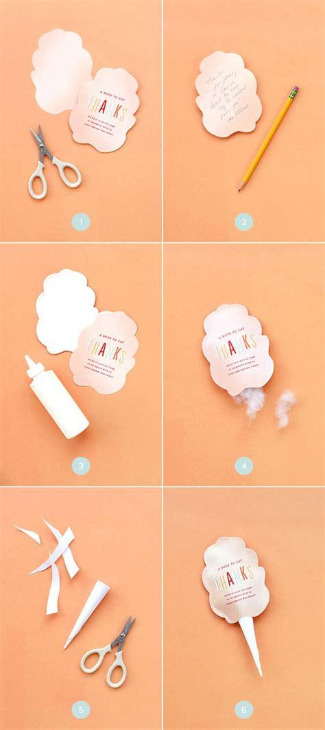 diy cotton candy   card printable home wedding