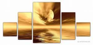 Wandbilder Xxl Mehrteilig : wandbilder jack dyrell cognac sunset kunstdrucke leinwand keilrahmen ~ Markanthonyermac.com Haus und Dekorationen