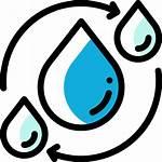 Icono Agua Ciclo Gratis Icons Editar Guardar