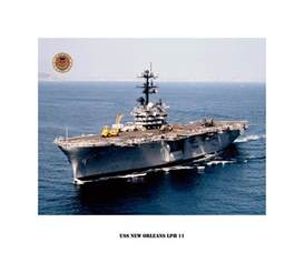LPH Ship USS New Orleans