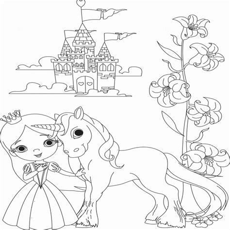 Kleurplaat Zeemeermin Eenhoorn by Kleurplaat Eenhoorn Mooi Prinses Kleurplaten Beste