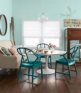 turquoise dining chairs country kitchen benjamin With kitchen colors with white cabinets with world market metal wall art