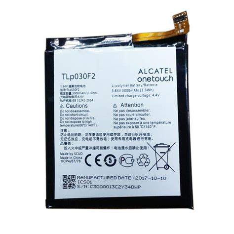 It can also affect how long your device can stay alive on a. Genuine cell phone battery TLP030F2 for Alcatel - battery ...