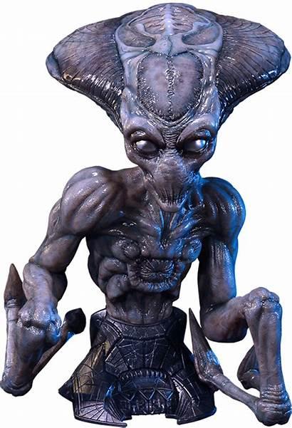 Independence Alien Aliens Resurgence Bust Wie Statue
