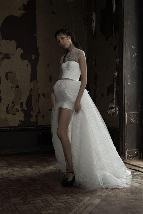 hotel madrid vera wang bride spring  collection