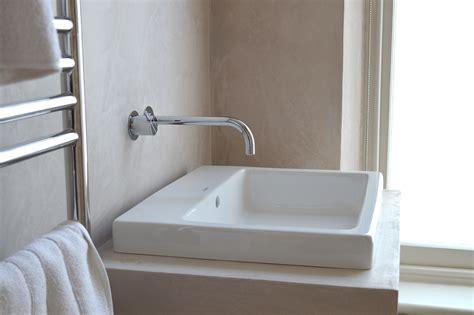 bathroom wall construction materials tadelakt