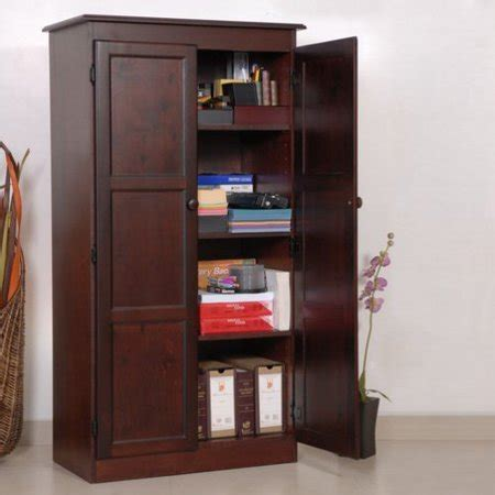 Concepts In Wood Multipurpose Storage Cabinet Pantry