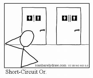 i can barely draw short circuit or With to short circuit