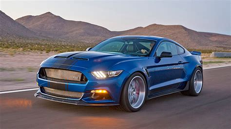 Shelby Unveils Widebody 2017 Ford Mustang Concept Packing