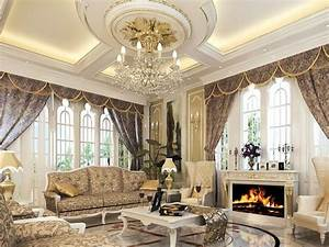 Luxury Living Room Ceiling Design - 4 Home Ideas