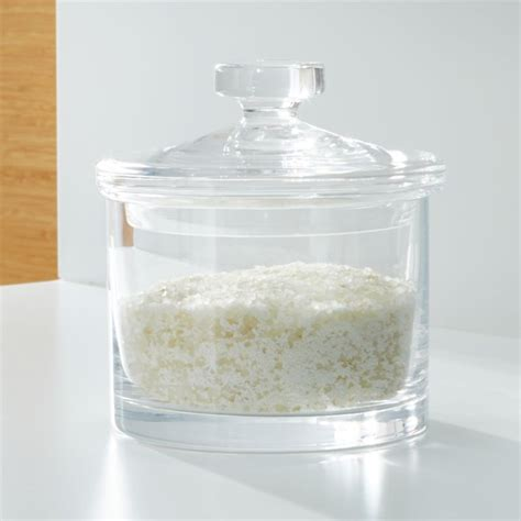 Medium Glass Canister + Reviews | Crate and Barrel