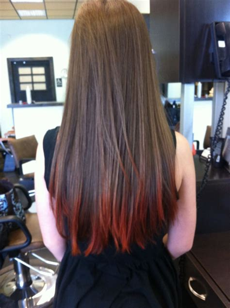 Brown Hair With Tips by Tips On Brown Hair Hair Color My