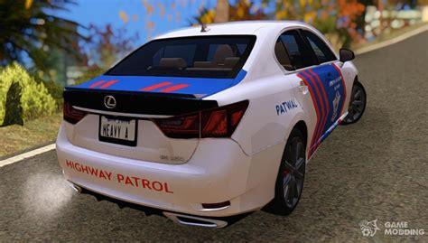 lexus gs  indonesian police car  gta san andreas