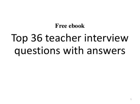 top 20 questions and answers 641 | top 20 teacher interview questions and answers 1 638