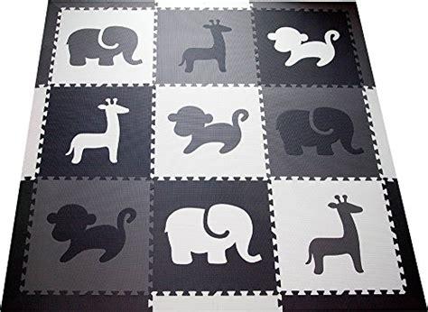 softtiles kids foam play mat safari animals theme