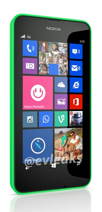 nokia lumia 630 wp8 device leaked btnhd