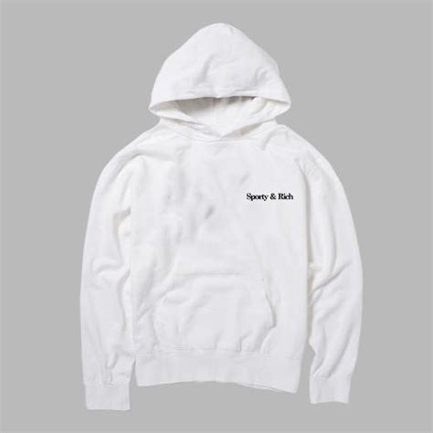 sporty and rich hoodie kendrablanca