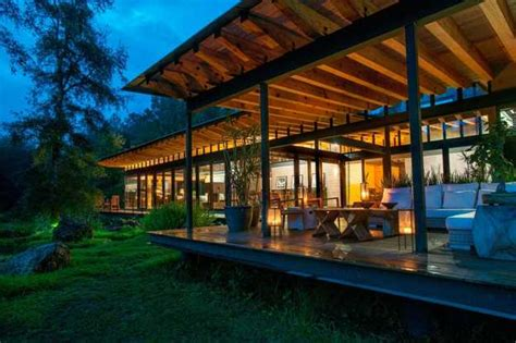 spectacular modern house design delights  wood