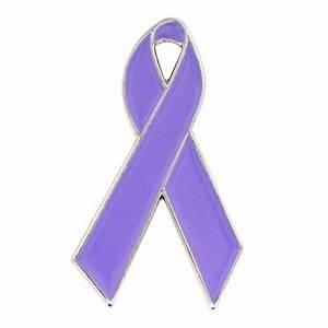 Lavender Ribbon Pin | Awareness Pins | PinMart | PinMart