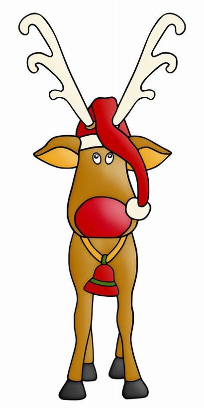 Christmas Clipart Reindeer Clip Graphics Cliparts Minus