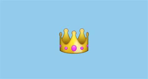 crown emoji  apple ios