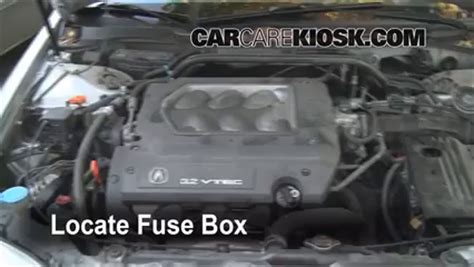1999 Acura Cl V6 Fuse Box by Replace A Fuse 1999 2003 Acura Tl 1999 Acura Tl 3 2l V6
