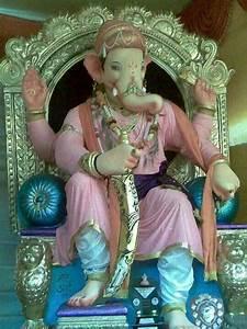 ganapati like shivajiganesh utsav 2013 hindu god b With what kind of paint to use on kitchen cabinets for hindu god wall art