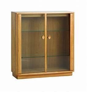 Ercol Windsor Small Display Cabinet At Lukehurst