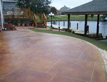 concrete patios pictures gallery  concrete network