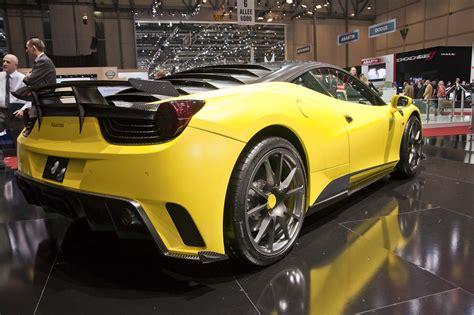 Mansory Siracusa Geneve Auto Design Tech