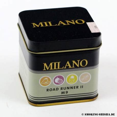 milano road runner ii kaufen smoking shishade